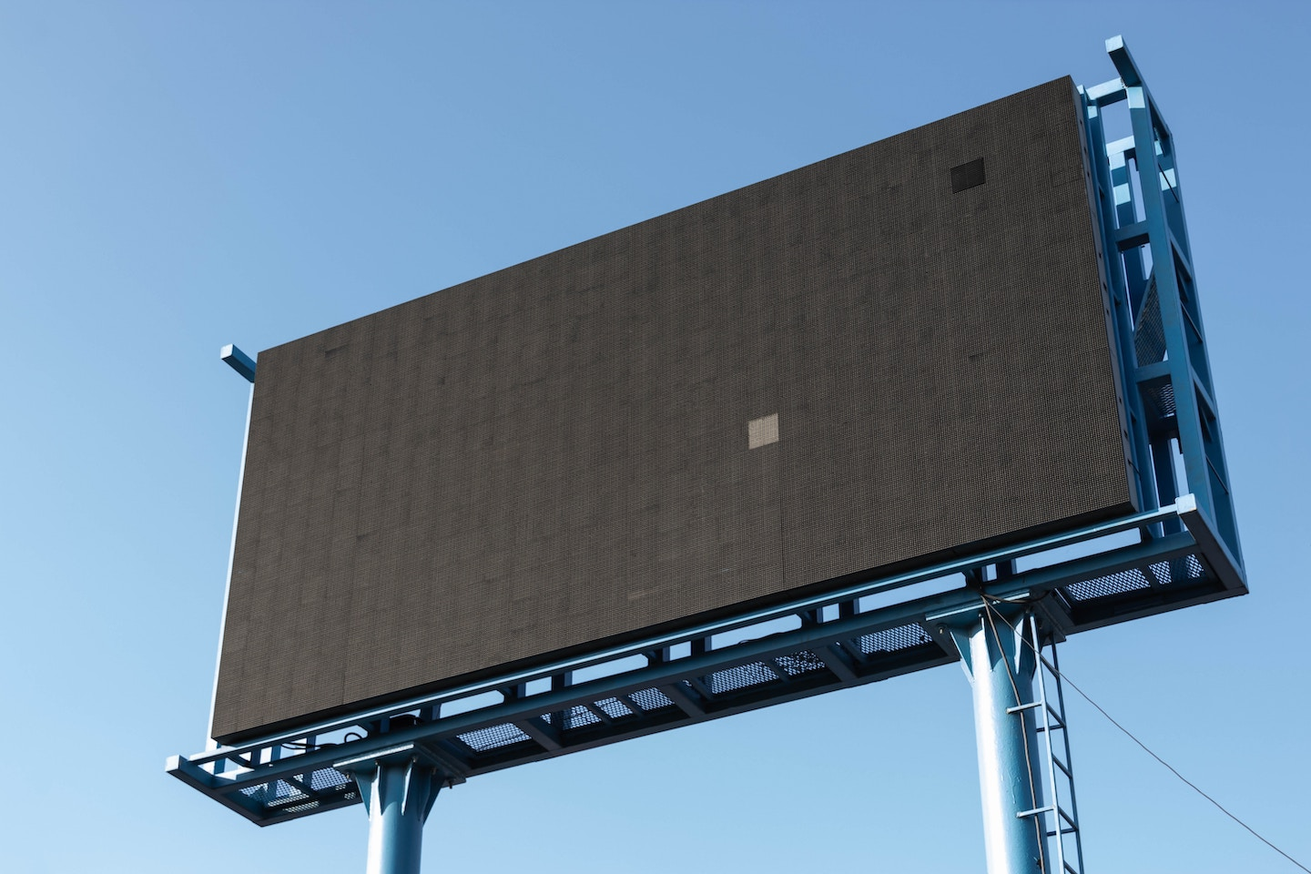 turned off billboard